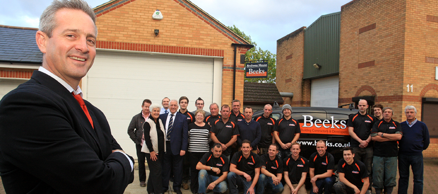Beeks High Wycombe Builders and team